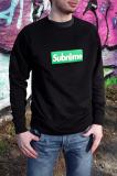 Sweater SUBRÊME schwarz
